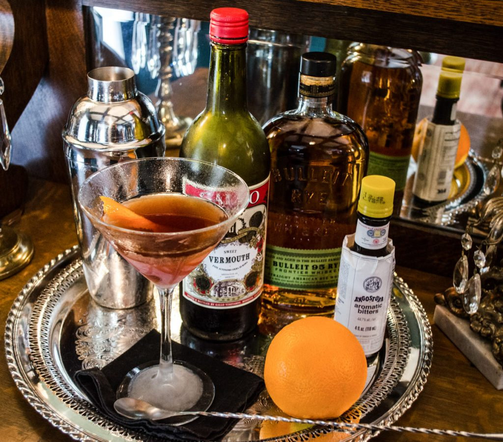Cocktail Recipe the Manhattan
