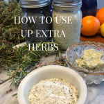 herb salts and butters