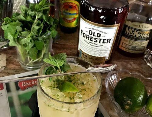 How to Make a Bourbon Mojito