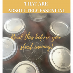 what you need for home canning