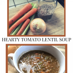 Lentil soup ingredients and recipe