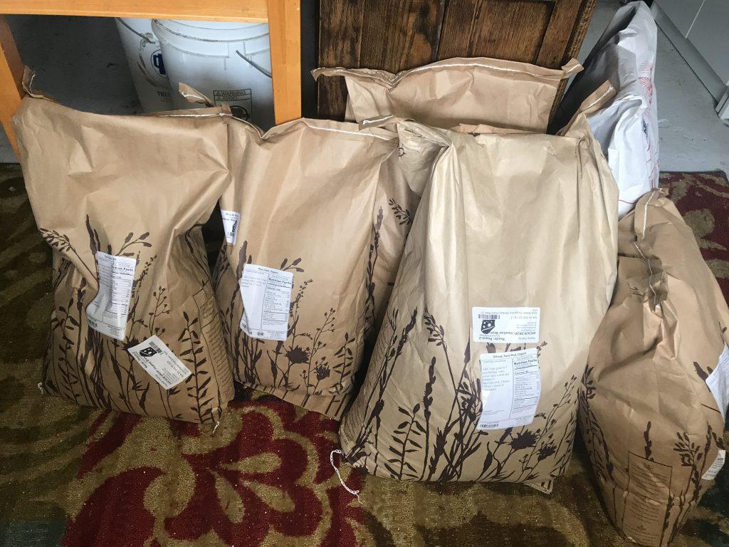 grain sacks from azure