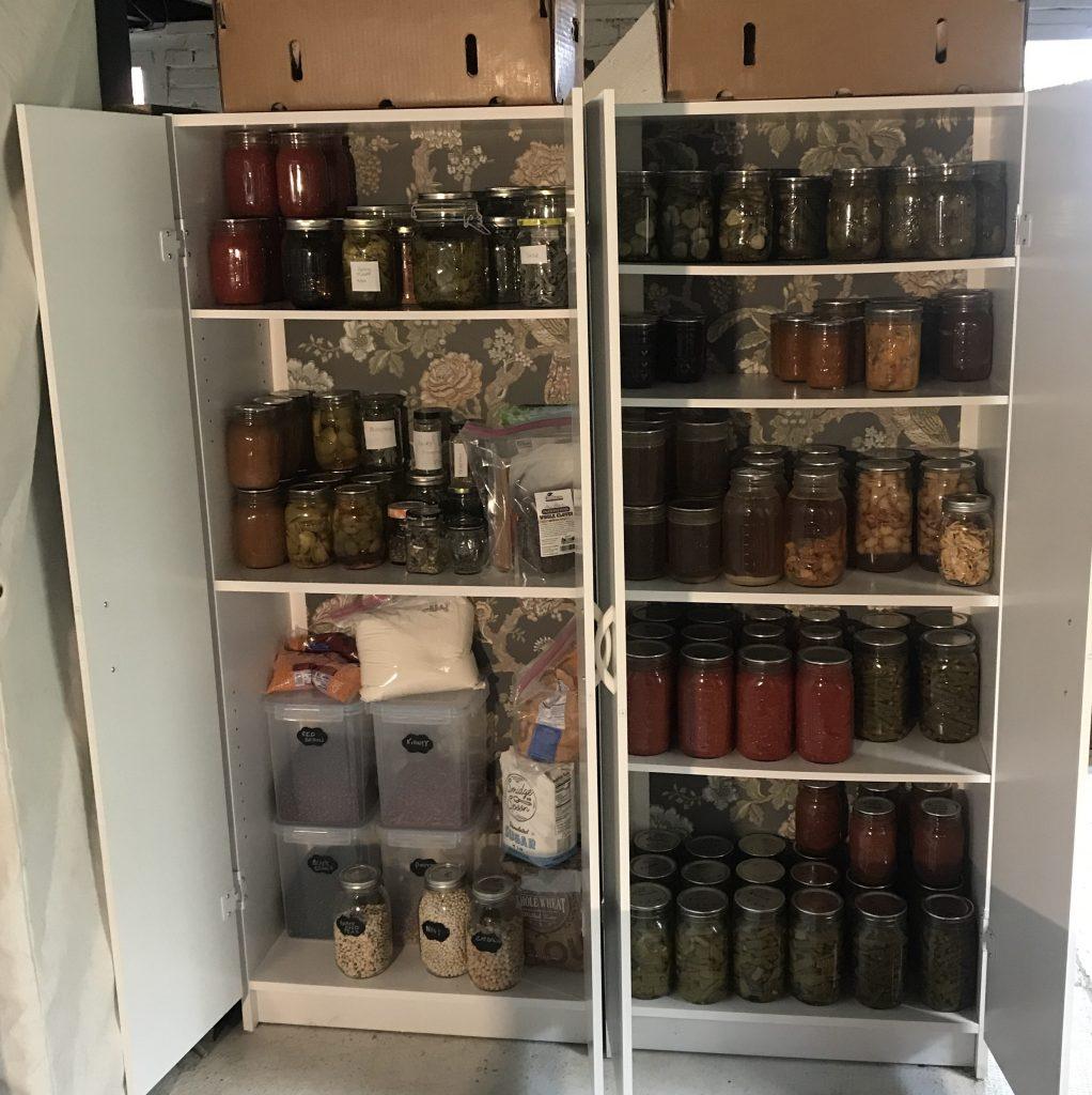 long term food storage cabints