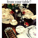 Tablesetting items you might be missing