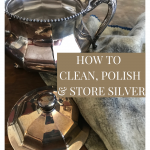 How to clean silver with silver cloth and polish