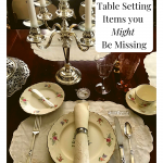 table setting pieces you might be missing