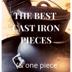 best cast iron pieces