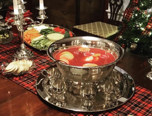Easy Punch Recipe for Christmas Parties