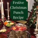Festive punch recipe