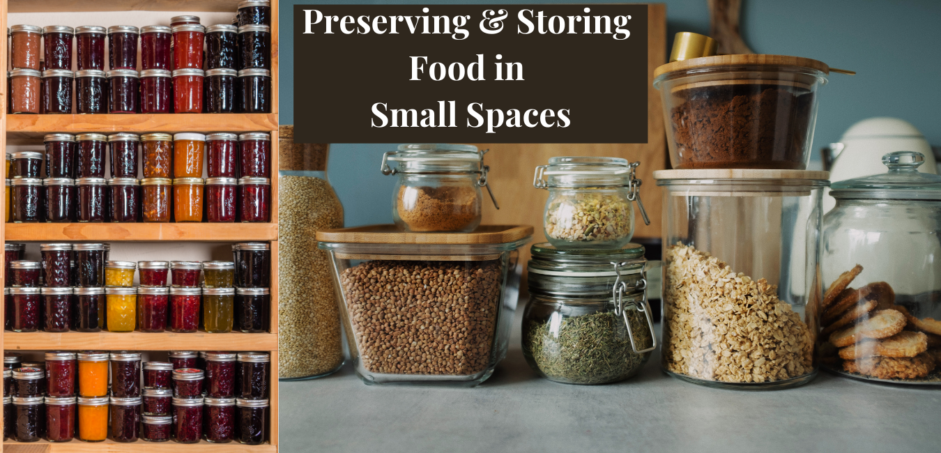 Storing Food in Small Spaces